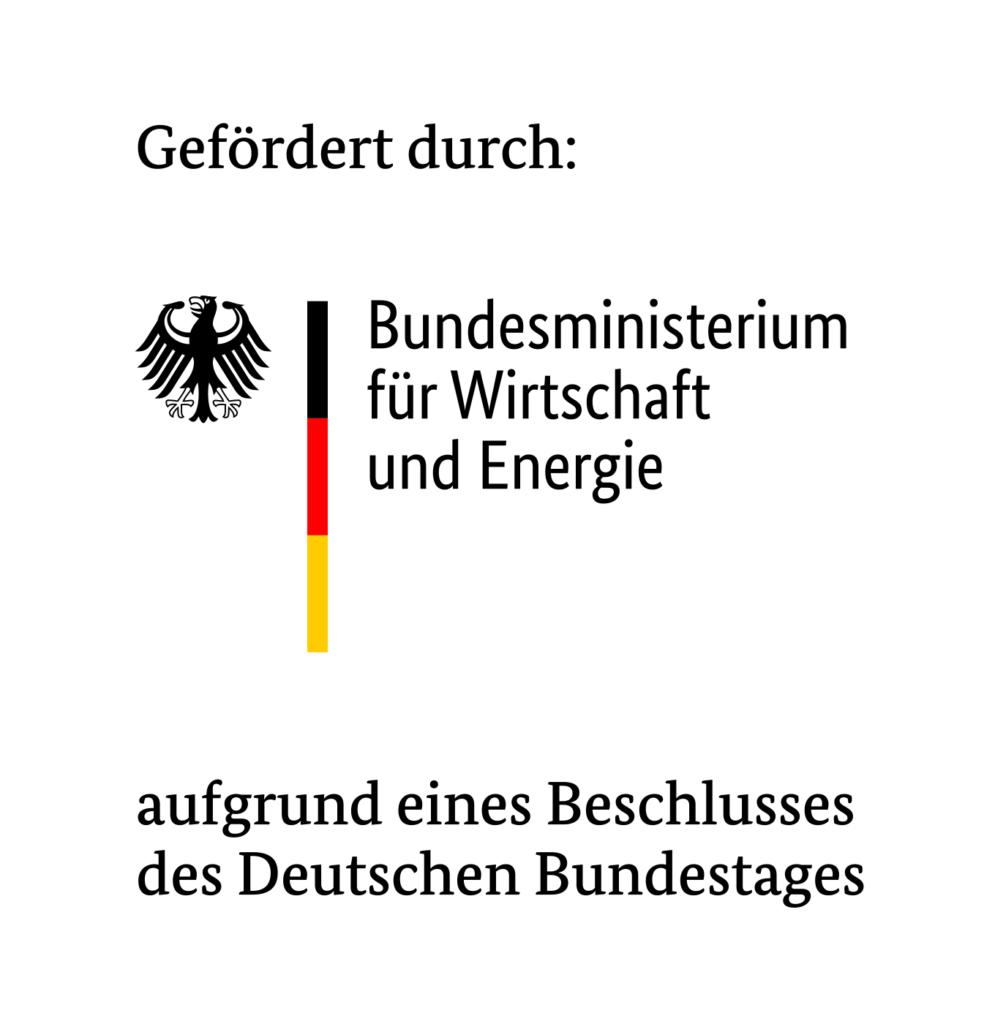 Gefördert durch das Bundesminesterium für Wirtschaft und Energie